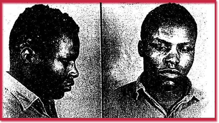 Mugshot photo of murderer James Henry Greenidge