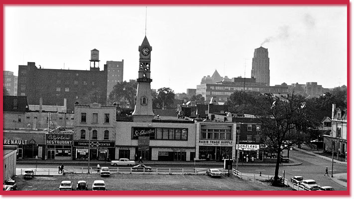 St Charles Tavern photo from City of Toronto archives