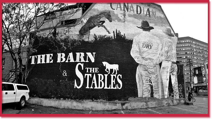 The Barn and Stables in Toronto, where Colin Nicholson met his killer