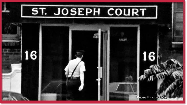 16 St Joseph Court photo by CBC News