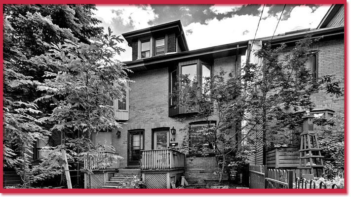 Murder house at 45 Badgerow Avenue, Toronto