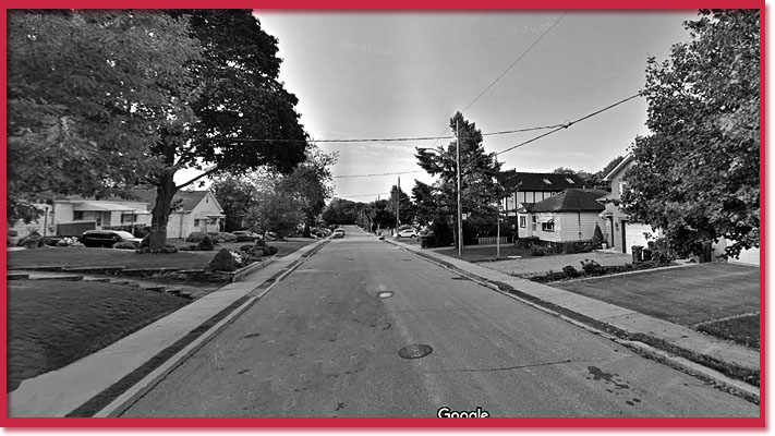 Google Streetview of Thatcher Avenue