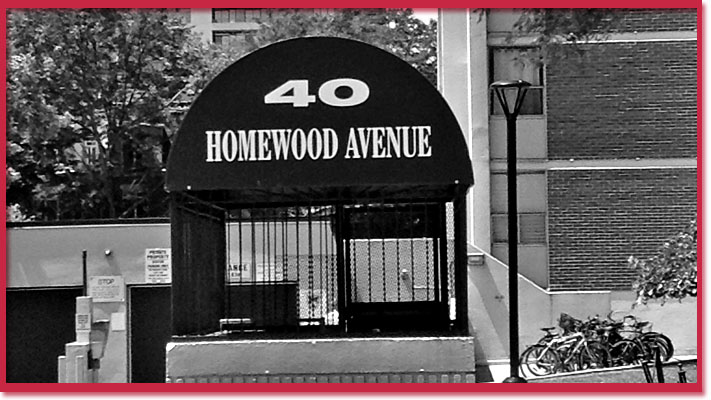 40 Homewood where Michael Boley was murdered