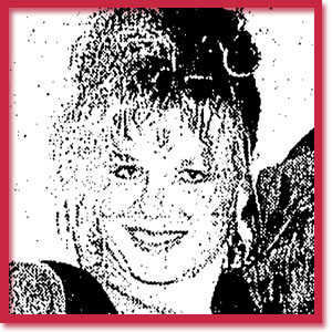 Black and white photo of murder victim Grayce Baxter
