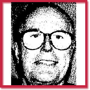Black and white photo of murder victim John Beverly Wilson