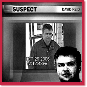 Photograph of murderer David Reid