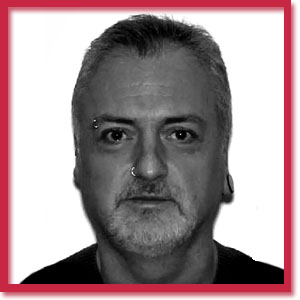 Black and white photo of Toronto homicide victim Brent Gartner